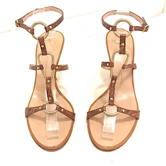 Giuseppe Zanotti Shoes - Zanotti Crocodile ankle strap sandal